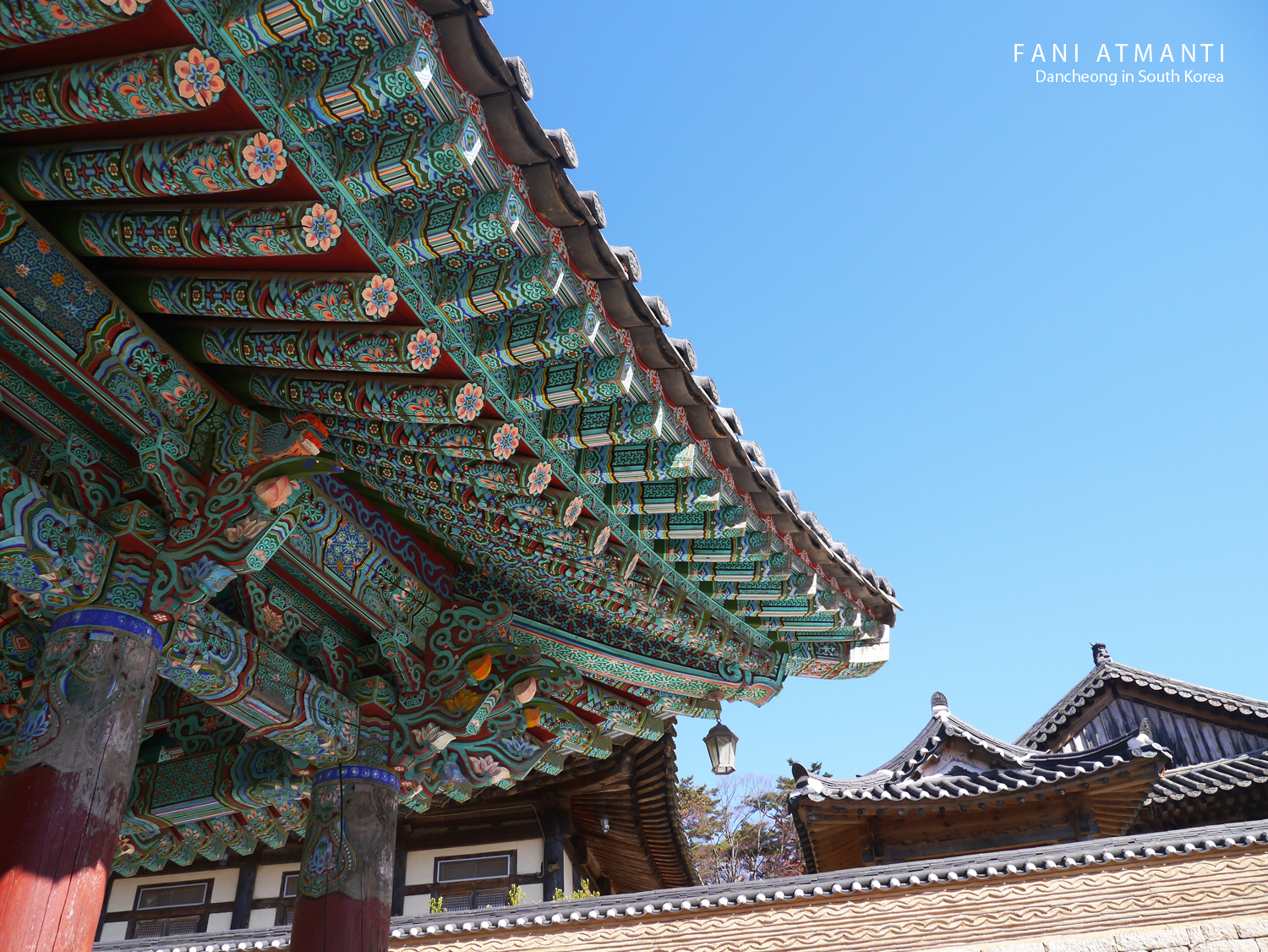When You Visit Korean Palace Or Temple Will See The Colorful Patterns On Roof Structure This Impressed Me A Lot And I Try To Find Some